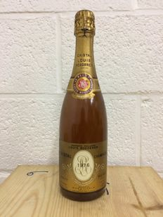 1976 Louis Roederer Cristal Brut Millesime - 1 bottle
