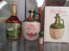 2 bottles - Old Rarity & Virginia Gentleman