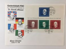 Federal Republic of Germany 1971/2001 - a collection of 1.300 first day letters