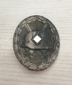 Wounded badge for the army 1939 in silver