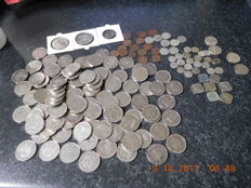 Belgium/The Netherlands - Lot of 311 coins in total, 1783/2000, of which 83 are silver