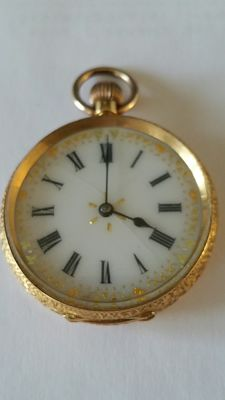 Zakhorloge ca. 1860-1880 Swiss made