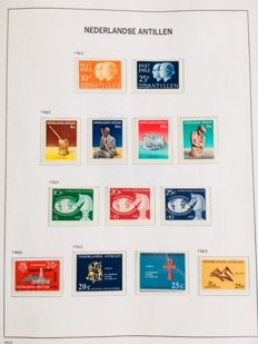 World – Collection with stamps from France, Luxembourg, Germany and The Netherlands Overseas Territories