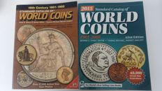 Accesories - Krause catalogue for World coin 1801-1900 4th edition + 1901-200 42nd edition