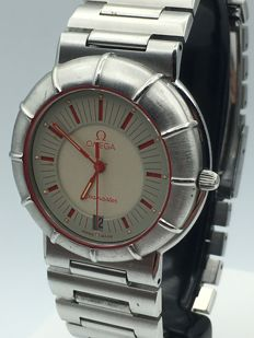 Omega_Seamaster Dynamic Spider_SS steel_Date_Quartz_cal 1430_1990
