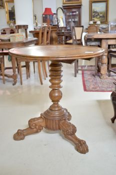 Empire tilt top table -19th century