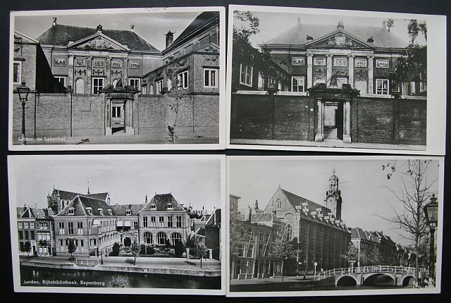 Leiden, the Netherlands 148 different old postcards - Catawiki