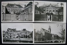 Leiden, the Netherlands 148 different old postcards