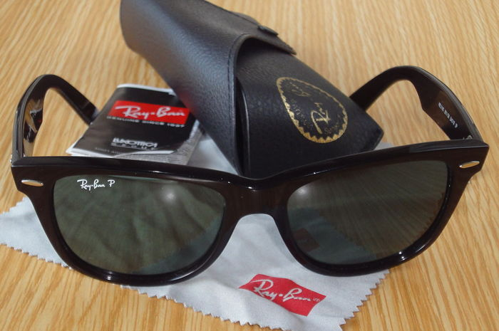 09e24bf413 Ray-Ban P – Wayfarer Polarized Sunglasses – Unisex - Catawiki