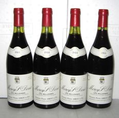 1984 Morey Saint-Denis 1° Cru Les Millandes, Domaine Pierre Amiot - lot 4 bottles