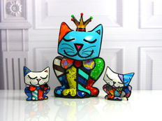 Romero Britto - 3 Cats