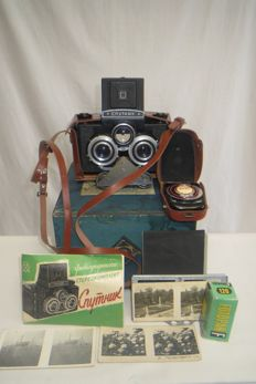 "Uniquely rare !!! Stereo kit ""Sputnik""-first issues, see the number.. As a gift, a sealed film, an exposure meter ""Leningrad-2"", photographic plates and more ..THE USSR. LOMO (Leningrad)."
