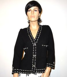 Chanel - lovely blazer with faux pearls