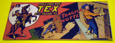 Tex strip 1st series, issue no. 58 - first edition, not a reprint (1948)