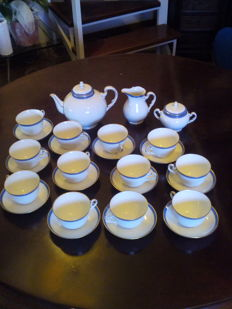 Richard Ginori - Tea service by Doccia manufacture, Florence - 27x
