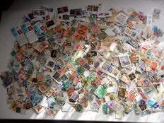 World - Accumulation of blocks and stamps