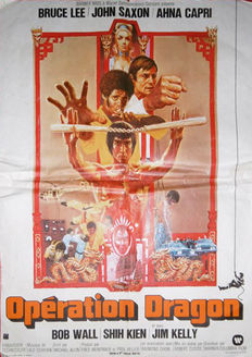 Anonymous - Opération dragon (Bruce Lee) - 1973