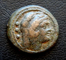 Roman Republic - Anonymous AE Quadrans - After 211 BC