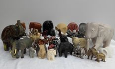 Collection of 38 elephants