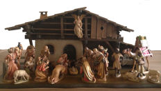 Nativity set- Ulrich Bernardi- Anri-1986-Italy
