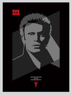 Shepard Fairey (OBEY) - Billy Idol Kings an Queens of the Underground