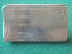 Silver snuff box Chester 1928-1929