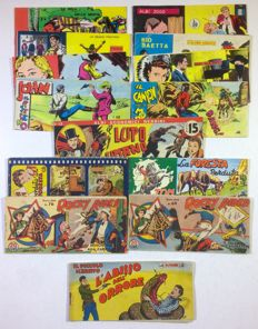 Lot of 14x comic strips - 1940s/50s/60s