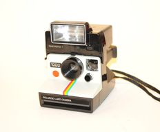 Polaroid 1000 with Polatronic 1 flash