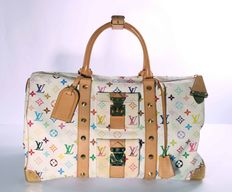 Louis Vuitton – Monogram Multicolour Keepall 45 with studs