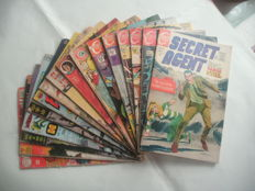 Collection Of Silver / Bronze Age Comics - Including DC Comics, Gold Key, Charlton + More - 16x sc - (1954/1976)