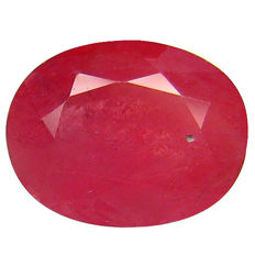 Ruby 1.82 Carat - No reserve price