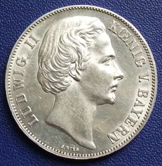 Old Germany, Bavaria - Victory Thaler 1871 - silver