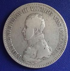 Old Germany, Prussia - Taler 1818 A - silver