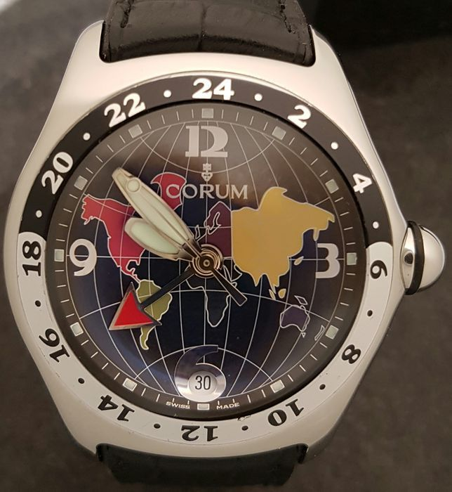 Corum - BUBBLE GMT - Ref. 383.250.20  - Men - 2000-2010