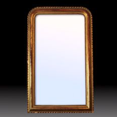 Golden wall mirror Louis Philippe - France - second half of the 19th century