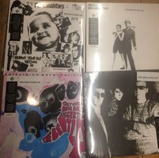 Four albums of Television Personalities || Record Store Day exclusives || Coloured vinyl || Limited editions