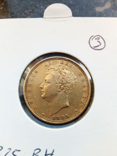 United Kingdom - Sovereign 1825 George IV - gold