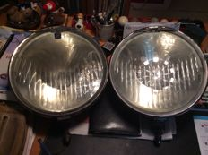 Hispano Suiza - pair of headlights Margoteaux - 1945
