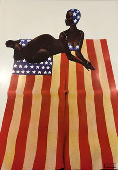 Jean-Paul Goude - Black stars and stripes - 1968