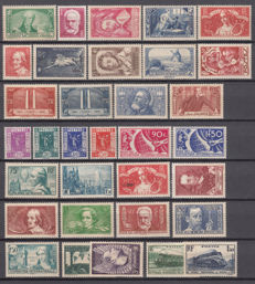 France 1935/1947 - Lot of stamps