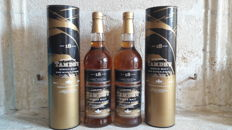 2 bottles - Tamdhu 18 years old - original bottling