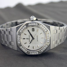 Audemars Piguet - Royal Oak Lady Diamonds - 77321ST.ZZ.D012CR.01 - 女士 - 2000-2010
