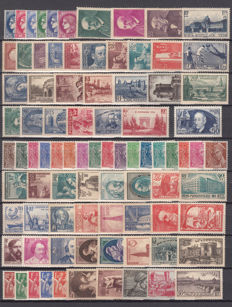 France 1938/1939 - Lot of stamps