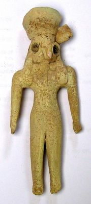 Indus Valley culture  - female votive  -  high 10 cm.