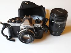NIKON FM2 analogue camera + lens