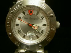 Tonino Lamborghini Swiss Watch 1963 Silver Dial