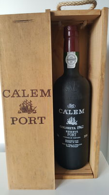 1962 Colheita Port Càlem Reserve - bottled in 1996