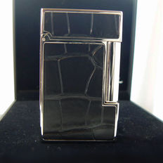 Dupont lighter line 2, Alligator, attributes in palladium