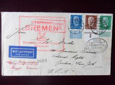 World – Selection of airmail letters including a Zeppelin card