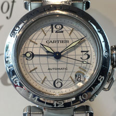 Cartier Pasha GMT Automatic — Ref. 2377 —  2000-2010